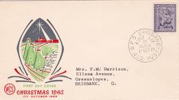 Australia 1962 Christmas, WCS FDC - FDC