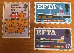Great Britain - MNH** - 1967, 1973 - # 685, 400/401 - 1952-.... (Elizabeth II)