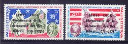 YT 208/9, ** MNH. James Cook, Hawaii (6B269) - Wallis-Et-Futuna