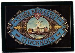 Stockholm - La Grande Brasserie 1891-1910 - Suède