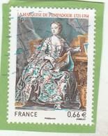 FRANCE 2014  LA MARQUISE DE POMPADOUR OBLITERE YT 4887 -                                TDA268 - France