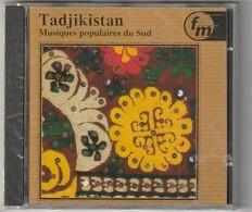 Cd Inde TADJIKISTAN Musiques Populaires Du Sud  Etat: TTB Port 110 Gr Ou 30gr - Musiques Du Monde