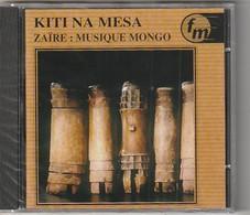 Cd ZAIRE  Musique MONGO  Kiti Na Mesa  Etat: TTB Port 110 Gr Ou 30gr - Musiques Du Monde