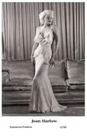 JEAN HARLOW - Film Star Pin Up PHOTO POSTCARD - 6-386 Swiftsure Postcard - Postales