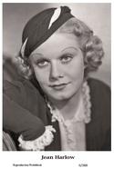 JEAN HARLOW - Film Star Pin Up PHOTO POSTCARD - 6-388 Swiftsure Postcard - Postales