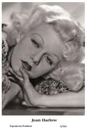 JEAN HARLOW - Film Star Pin Up PHOTO POSTCARD - 6-362 Swiftsure Postcard - Postales