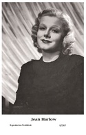 JEAN HARLOW - Film Star Pin Up PHOTO POSTCARD - 6-367 Swiftsure Postcard - Postales