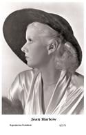 JEAN HARLOW - Film Star Pin Up PHOTO POSTCARD - 6-175 Swiftsure Postcard - Postales