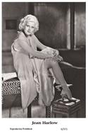 JEAN HARLOW - Film Star Pin Up PHOTO POSTCARD - 6-371 Swiftsure Postcard - Postales