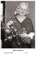 JEAN HARLOW - Film Star Pin Up PHOTO POSTCARD - 6-372 Swiftsure Postcard - Postales