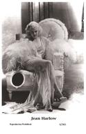 JEAN HARLOW - Film Star Pin Up PHOTO POSTCARD - 6-365 Swiftsure Postcard - Postales
