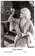 JEAN HARLOW - Film Star Pin Up PHOTO POSTCARD - 6-387 Swiftsure Postcard - Postales