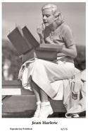 JEAN HARLOW - Film Star Pin Up PHOTO POSTCARD - 6-176 Swiftsure Postcard - Postales