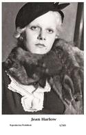 JEAN HARLOW - Film Star Pin Up PHOTO POSTCARD - 6-389 Swiftsure Postcard - Postales