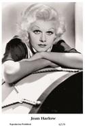 JEAN HARLOW - Film Star Pin Up PHOTO POSTCARD - 6-179 Swiftsure Postcard - Postales