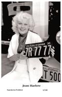 JEAN HARLOW - Film Star Pin Up PHOTO POSTCARD - 6-180 Swiftsure Postcard - Postales