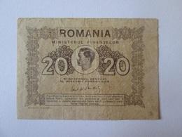 Romania 20 Lei 1945 Banknote - Assegni & Assegni Di Viaggio