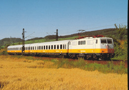 Luftansa - Airport - Express, ,electric  Locomotive 111 049-3 - Trains