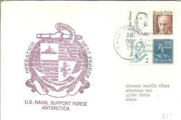 POSTMARKET  USA  1991 - Expediciones Antárticas