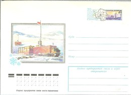 STATIONERY  URSS 1978 - Estaciones Científicas