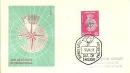 FDC ARGENTINA 1958 - Tratado Antártico