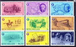 SEYCHELLES, SG 383/91, BI CENTENAIRE DES USA, **  MNH.  (6B241) - Timbres