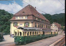 SGA, Electric Rack Rail - Car BCF Eh 4/4 N° 5 On July 15 , 1989 - Trains