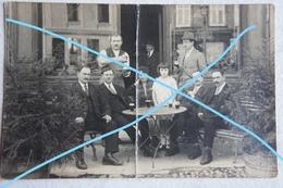 Photo BRUYERES Grandvillers Vosges Epinal Café 1926 Estaminet Terrasse France - Places