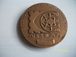 Médaille Exposition Philatélique Internationale 1975 - Popular Art