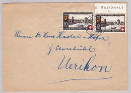 Brief Von Zürich (br5218) - Pro Patria