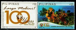 XE0809 Philippines 2018 Marine Life 1V With Ticket MNH - Filipinas