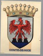 """Comté De Nice (06  Alpes Maritimes)  Décalcomanie """"chromotransfert"""" Années 60 (PPP14778) - Vieux Papiers"""