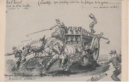 18 / 9 / 104  -LE  CHEVAL - TEXTE  DE  MR.  BUFFON ( Suite - Escritores