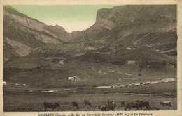 ROSELEND ( Savoie) Le Col Du Carmet De Roselend (1922m Et Les Paturages Vaches RV - France