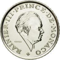 Monnaie, Monaco, Rainier III, 2 Francs, 1979, Paris, ESSAI, SPL+, Nickel - 1960-2001 New Francs