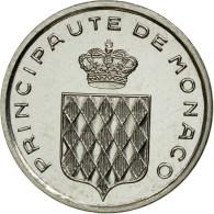 Monnaie, Monaco, Rainier III, Centime, 1976, Paris, ESSAI, FDC, Stainless Steel - 1960-2001 New Francs