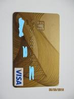 ESTONIA SEB VISA GOLD , EXPIRED , 0 - Geldkarten (Ablauf Min. 10 Jahre)