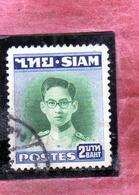 THAILANDE THAILAND TAILANDIA 1947 1949 KING Bhumibol Adulyadej RE 2b USATO USED OBLITERE' - Tailandia