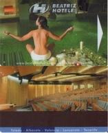 SPAIN. HOTEL KEY CARD. BEATRIZ HOTEL. (ALBACETE) 002. - Cartas De Hotels