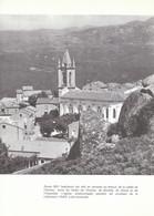 1971 - Iconographie - Zonza (Corse) - L'église - FRANCO DE PORT - Vieux Papiers