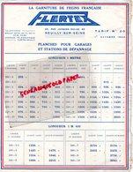92- NEUILLY SUR SEINE- TARIF 1933  FLERTEX -GARNITURE DE FREINS-65 RUE JACQUES DULUD- POUR GARAGE - Cars