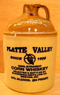 BOUTEILLE VIDE Mc CORMICK MADE IN USA CORN WHISKEY PLATTE VALLEY DISTILLING WESTON MO - Whisky