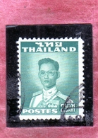 THAILANDE THAILAND TAILANDIA 1951 1960 KING Bhumibol Adulyadej RE 2b USATO USED OBLITERE' - Tailandia