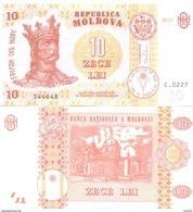 2017. Moldova, 10Leu/2015, P-10, UNC - Moldavie