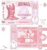 2017. Moldova, 50Leu/2015, UNC - Moldavie