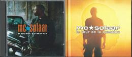"""MC SOLAAR – """"Prose Combat/Le Tour De La Question"""" – Lot De 3CD – 1994/1998 – Made In France & Germany - Rap & Hip Hop"""