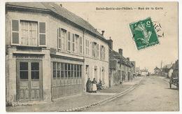 Saint Denis De L' Hotel Coll Joudion Rue De La Gare Boin Morlet Marchand De Porcs - France