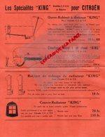 92 - LEVALLOIS PERRET- PUBLICITE R. LEMAITRE CONSTRUCTEUR-SPECIALITES KING POUR CITROEN-5 RUE CHAPTAL - Cars