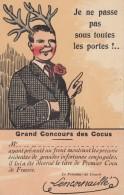 CPA -  Grand Concours Des Cocus - Humour