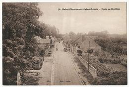 Saint  Firmin Sur Loire Route De Chatillon  Edit Redon 1948 - France